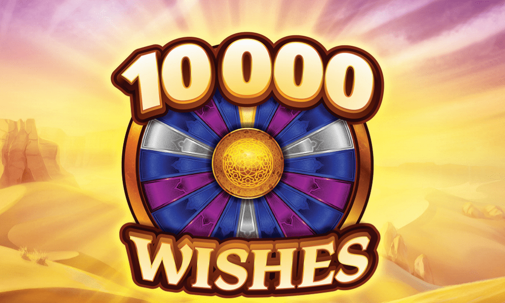 10,000 Wishes Slot Banner