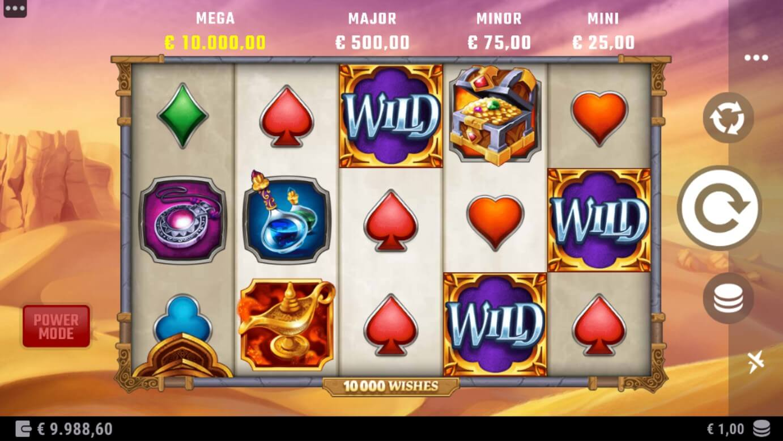 10,000 Wishes Slot Gameplay