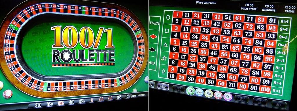 100 to 1 Roulette S Bonus