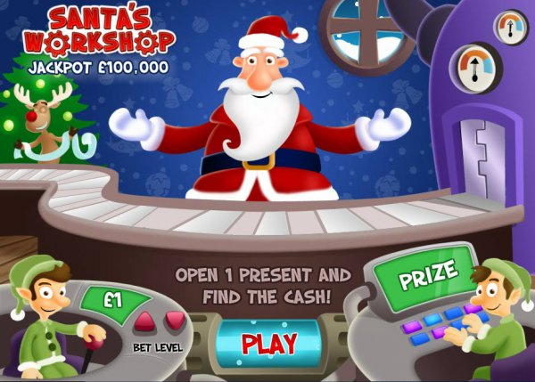 Santas workshop gameplay