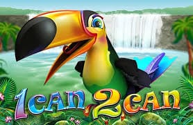 1 Can 2 Can Slots Game logo