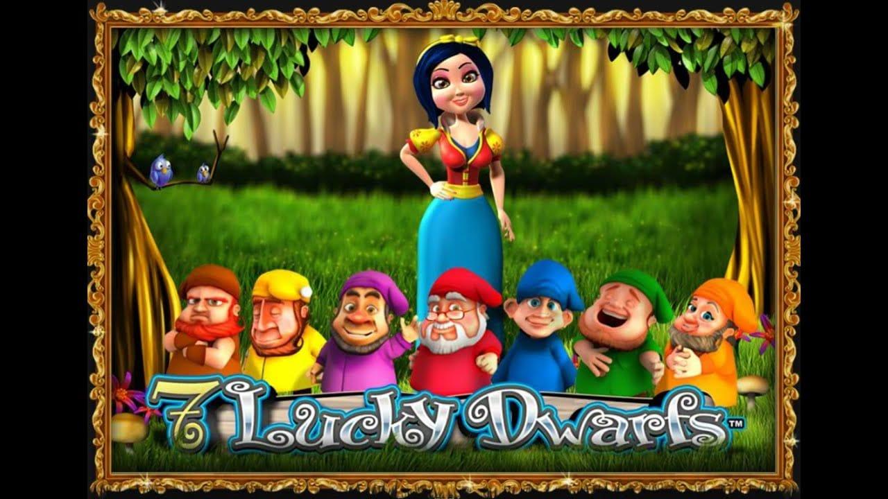 7 Lucky Dwarfs Slot Logo