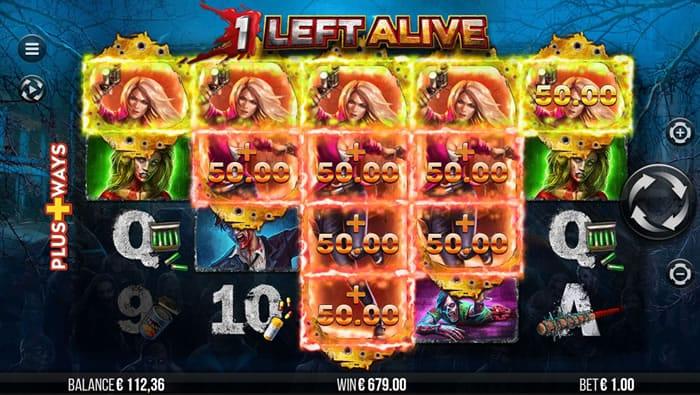 1 Left Alive Slots UK Game