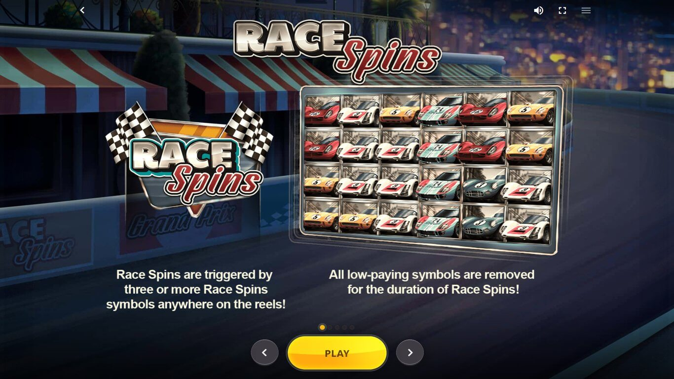 24 Hour Grand Prix Slot Bonus