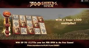 300 Shields Extreme Slot Bonus