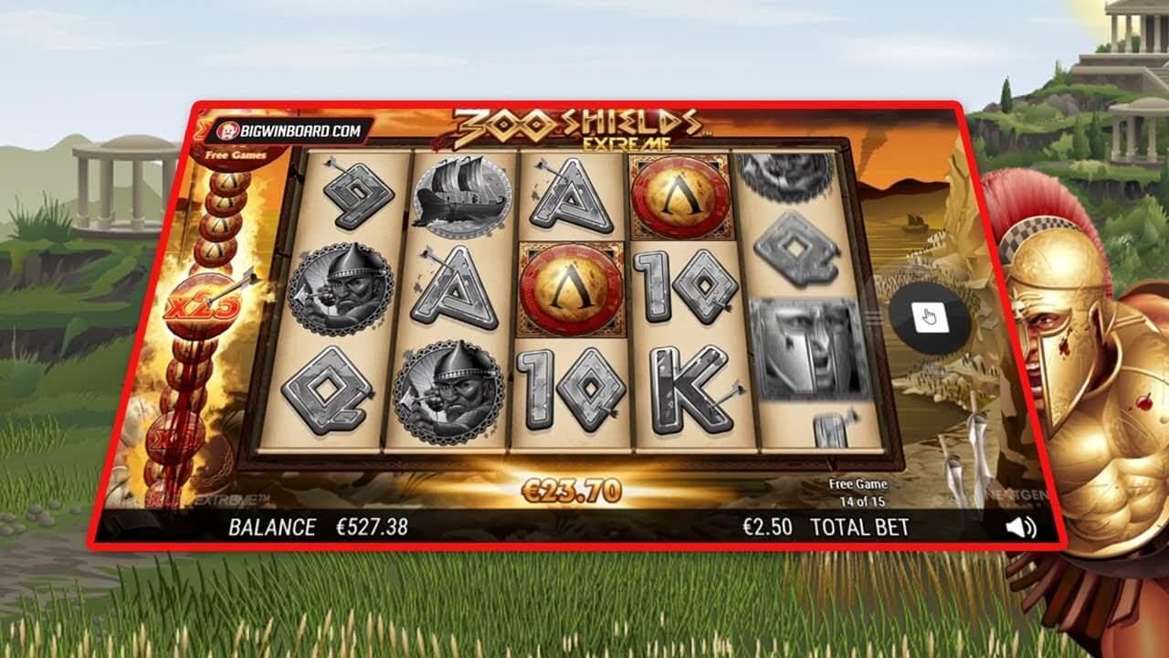 300 Shields Extreme Slot Gameplay