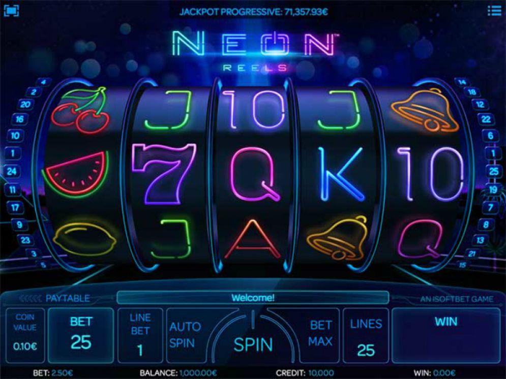 neon reels gameplay