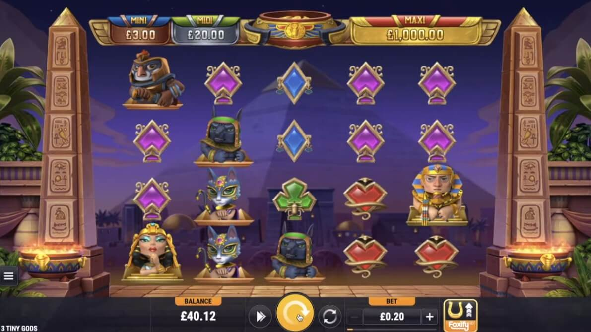 3 Tiny Gods Slot Bonus