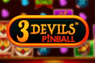 3 Devils Pinball Slot Logo Slots Baby