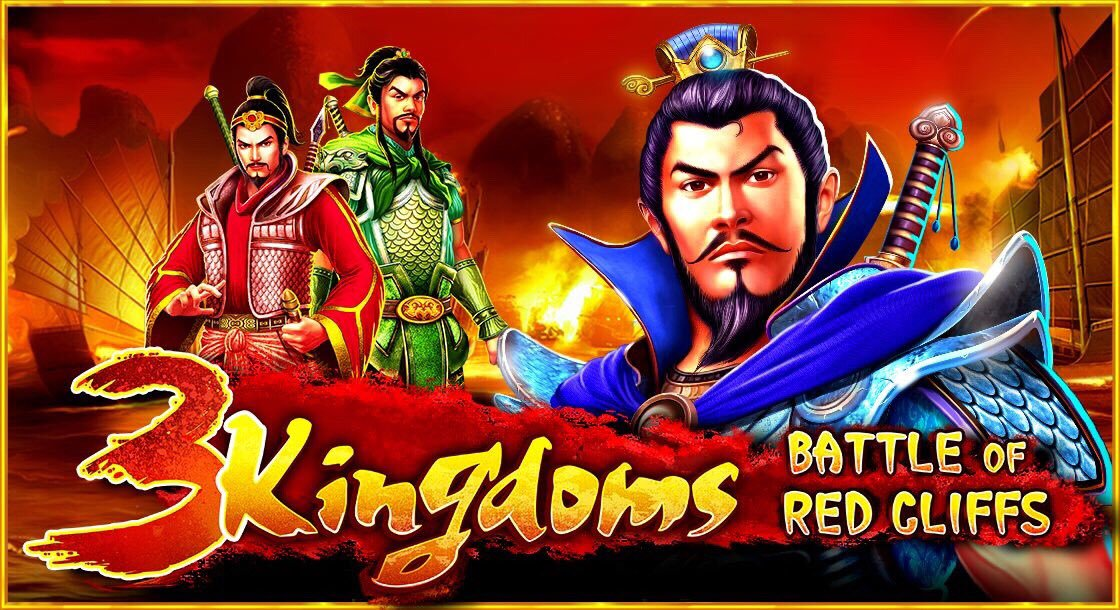 3 kingdoms - battle of red cliffs slots game logo