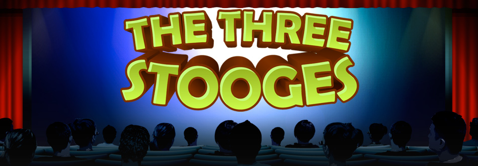 Three Stooges Slot Game Logo