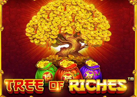 Tree of Riches slot logo