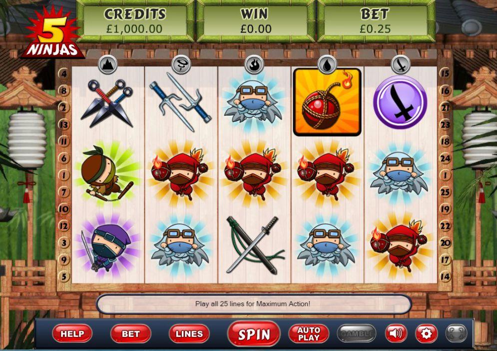 5 Ninjas Gameplay