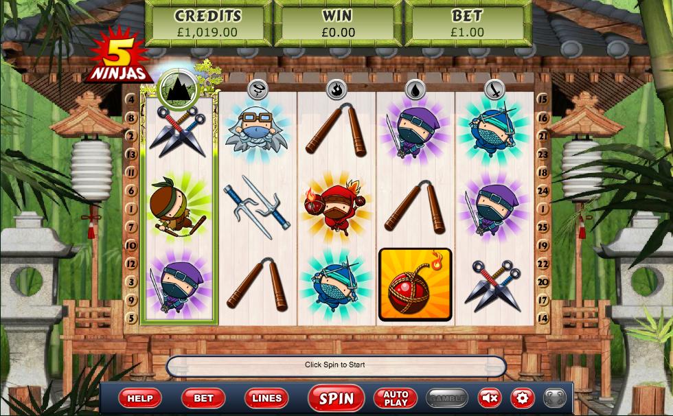 5 Ninjas Screenshot