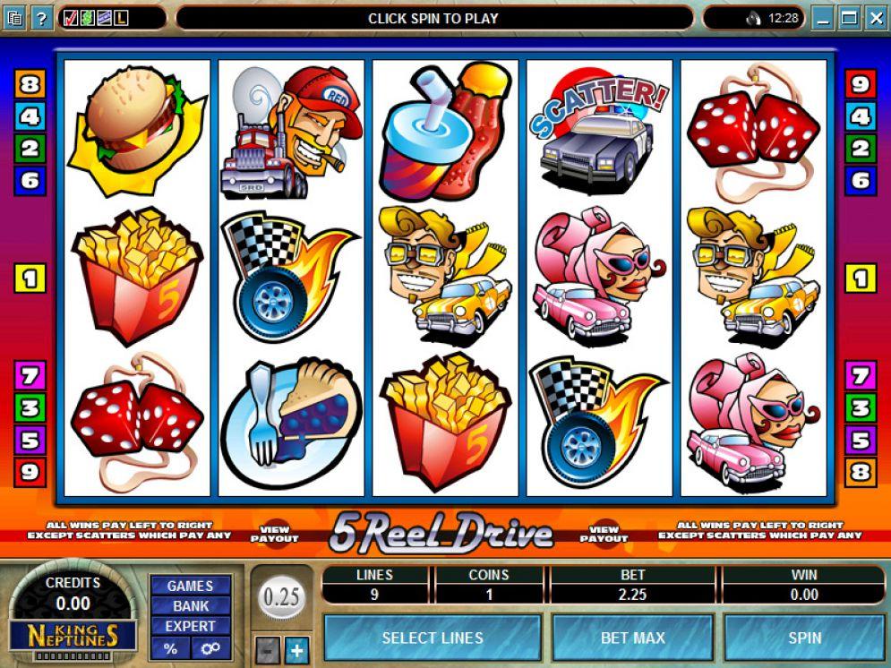 5 Reel Drive Gameplay