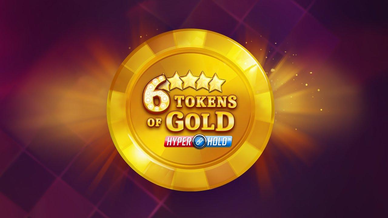 6 Tokens of Gold Slot Logo Slots Baby
