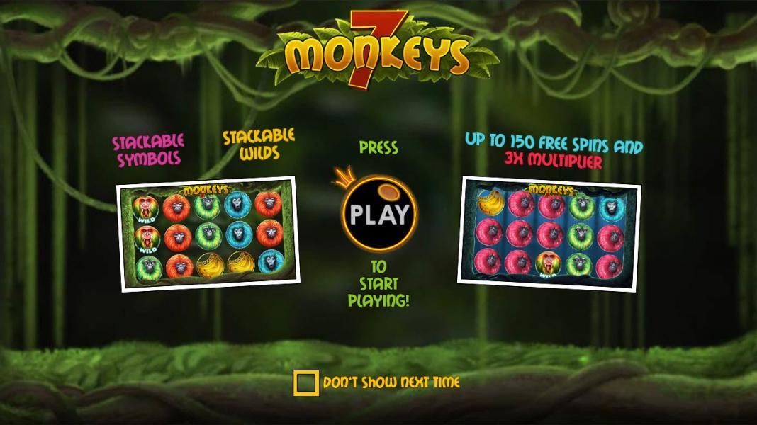 7 monkeys symbols
