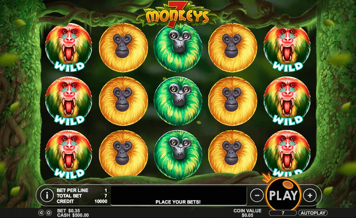 7 monkeys gameplay