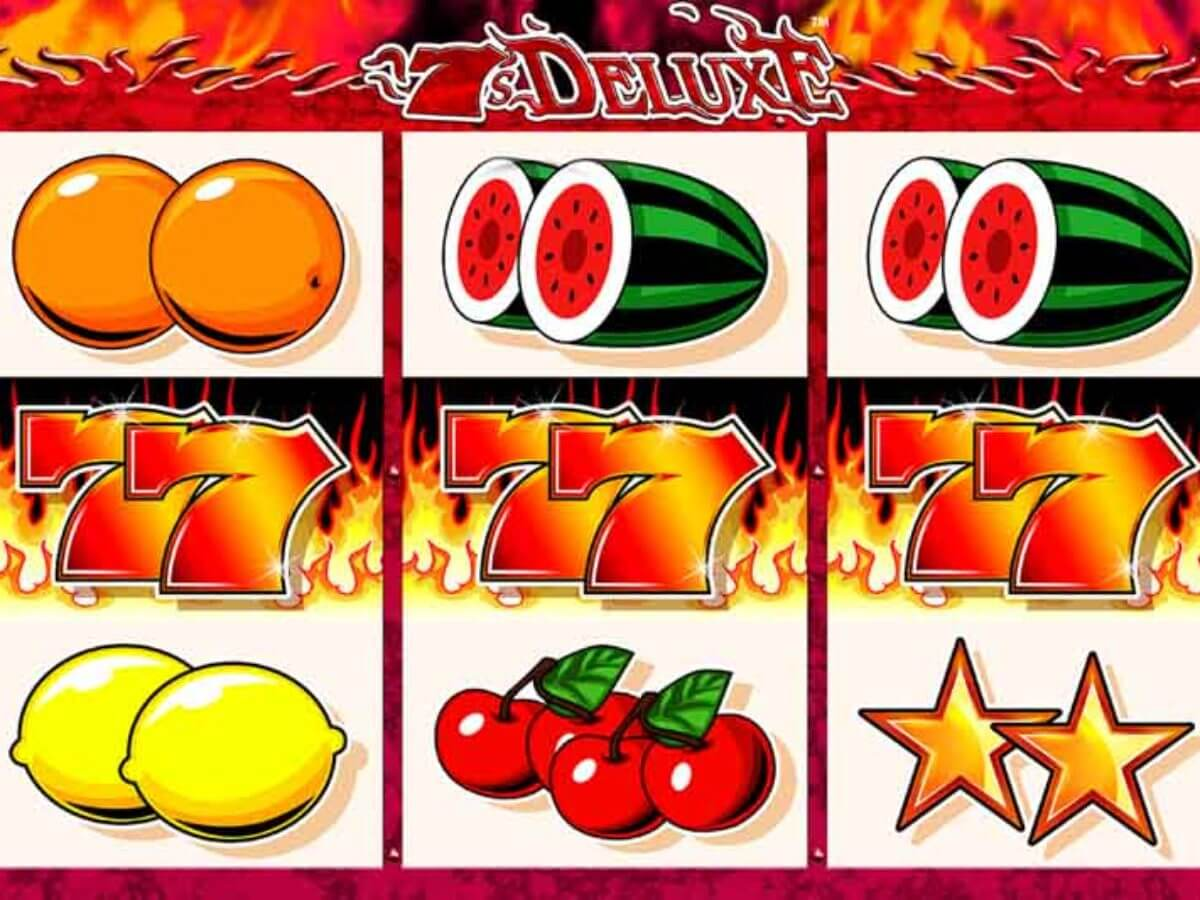 7s Deluxe Slot Gameplay