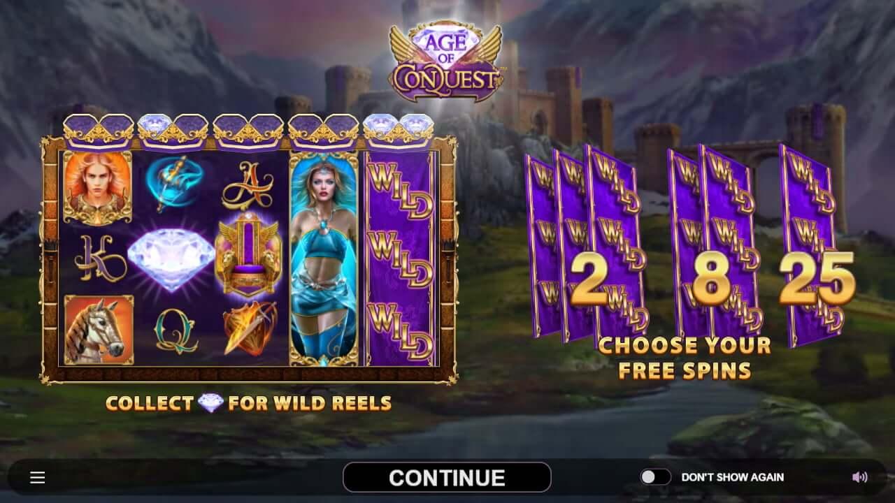 Age of Conquest Slot Bonus