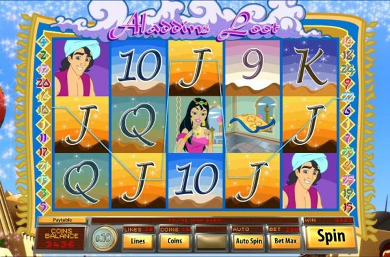 Aladdins Loot gameplay 2