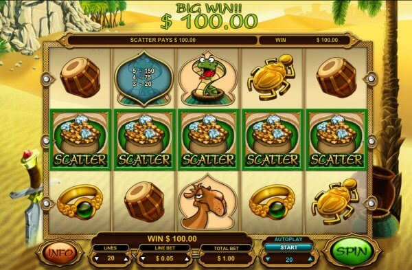 Ali Baba Slot Bonus
