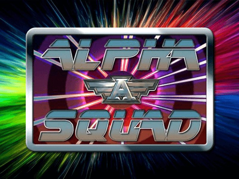Alpha Squad Origins slots game logo