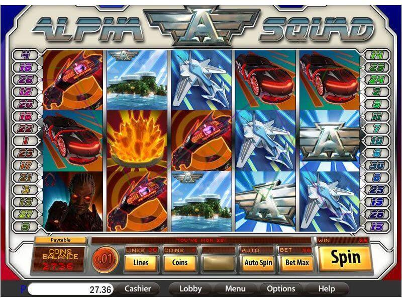 Alpha Squad Slot Bonus