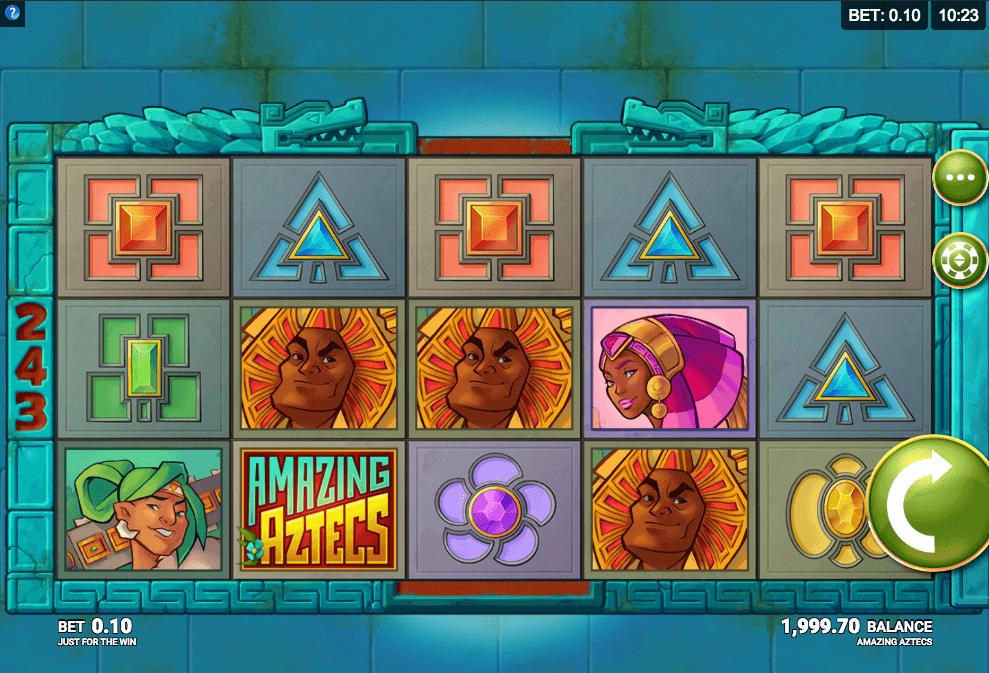 Amazing Aztecs Slot Gameplay