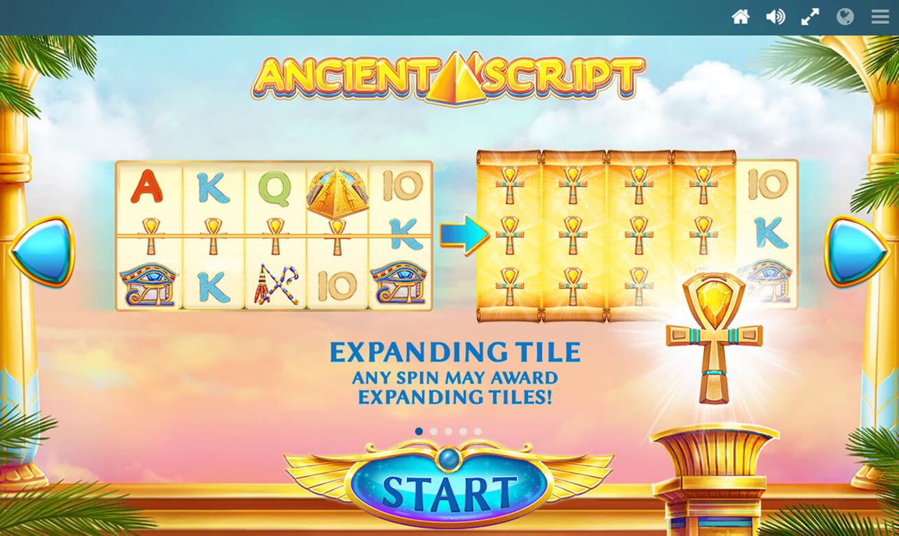 Ancient Script Slot Bonus