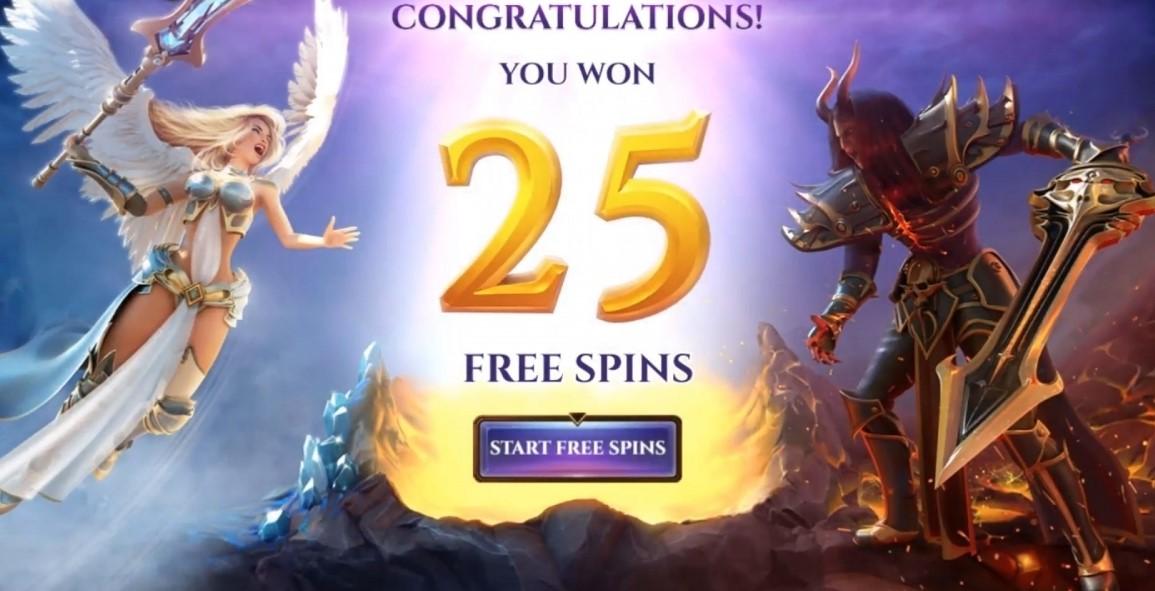 archangel free spins