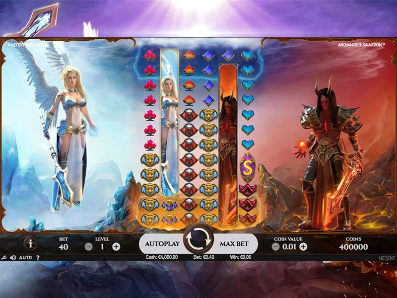 Archangels Salvation Slot Gameplay