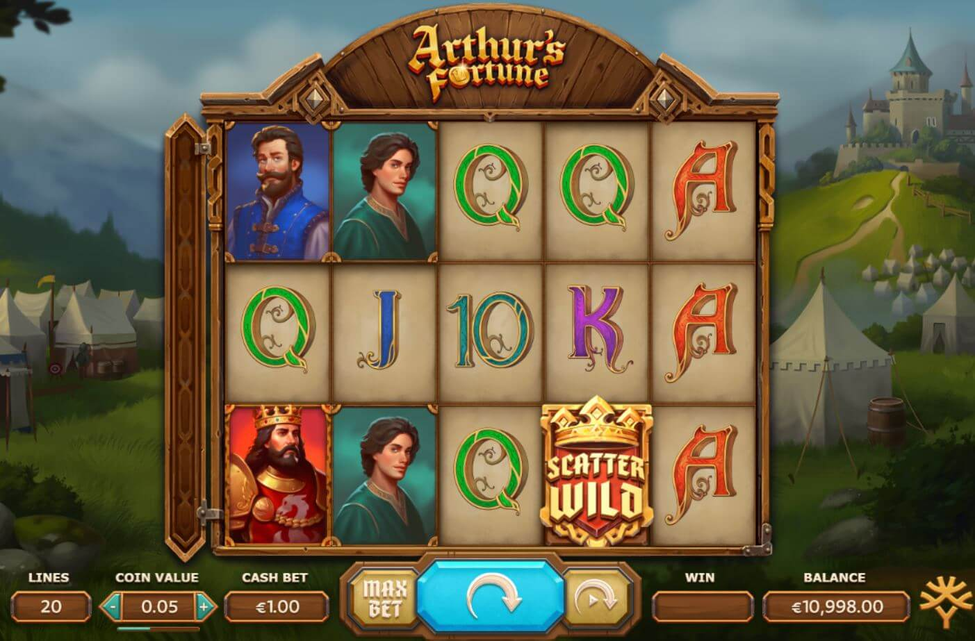 Arthurs Fortune Gameplay