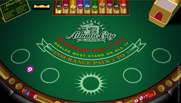 Atlantic City Blackjack Cover