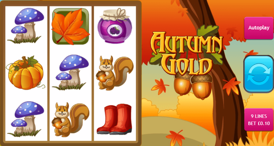 Autumn Gold Gameplay