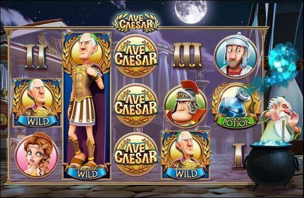 Ave Caesar Slot Gameplay