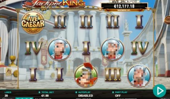 Ave Caesar Jackpot Slots Gameplay Image
