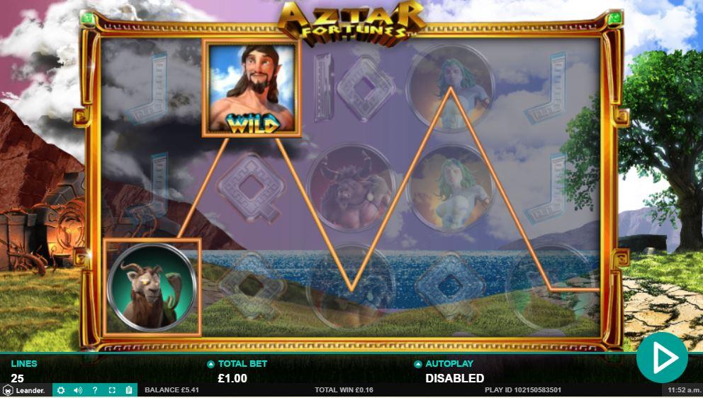 Aztar Fortunes Gameplay