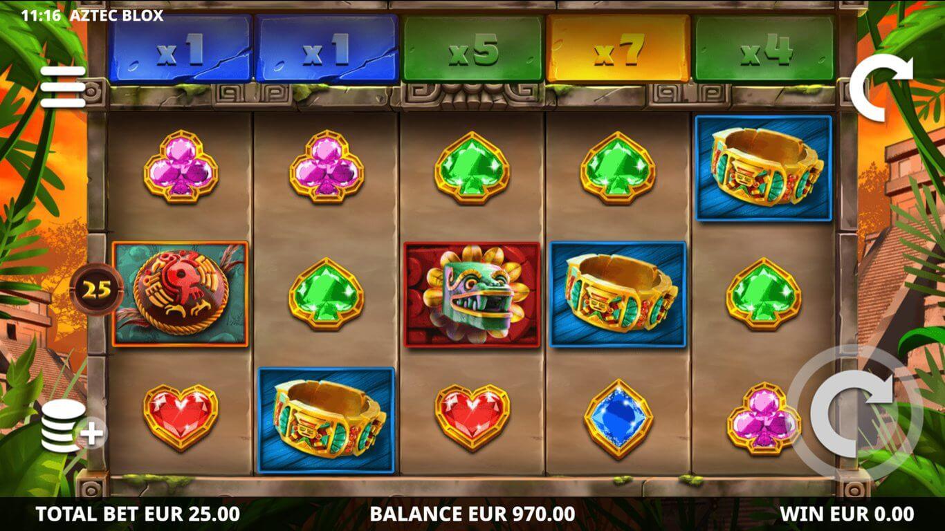 Aztec Blox Slot Gameplay