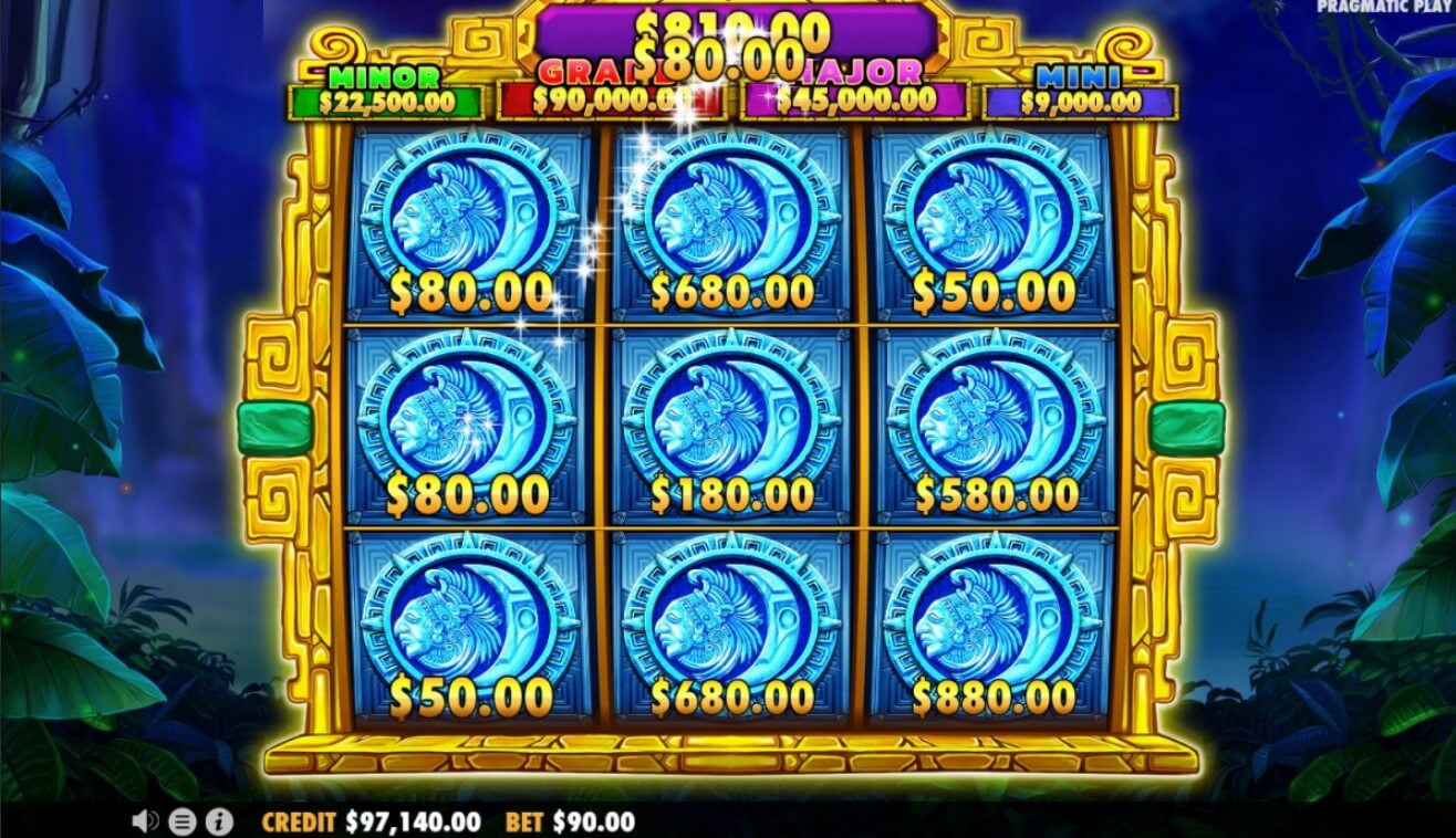 Aztec Gems Deluxe Slot Bonus