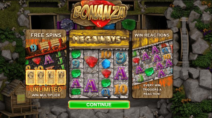 Bonanza free play slots
