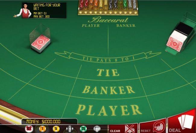 Baccarat Gameplay