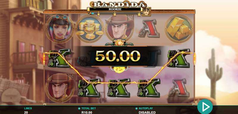 Bandida Slot Bonus