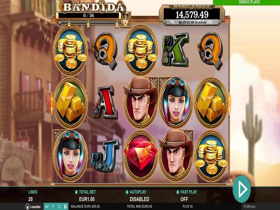 Bandida Slot Gameplay