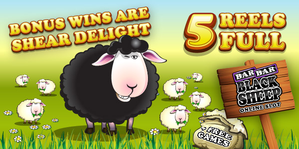 Bar Bar Black Sheep slots game bonus page