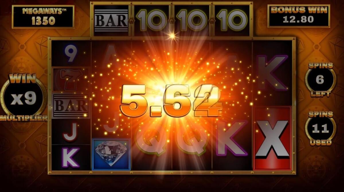 Bar-X Safecracker Megaways Slot Gameplay