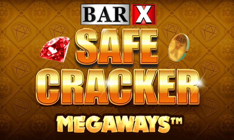 Bar-X Safecracker MegaWays Slot Game Logo