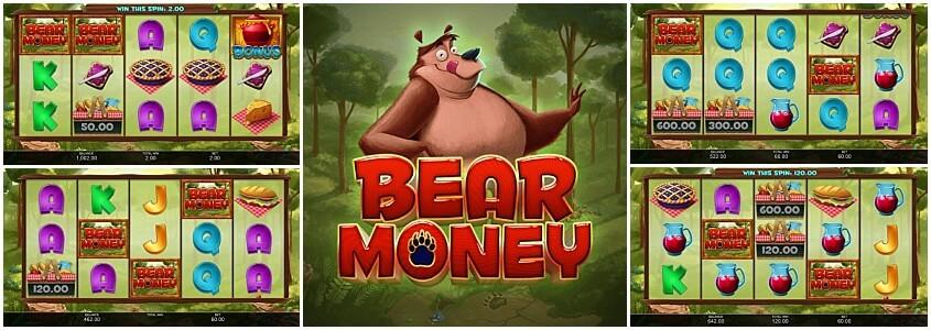 Bear Money Slot Gameplay
