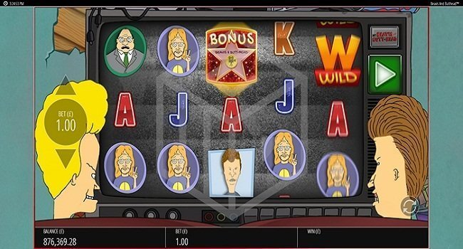 Beavis and Butthead Slot Gameplay