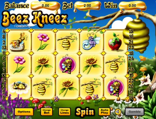 Beez Kneez gameplay